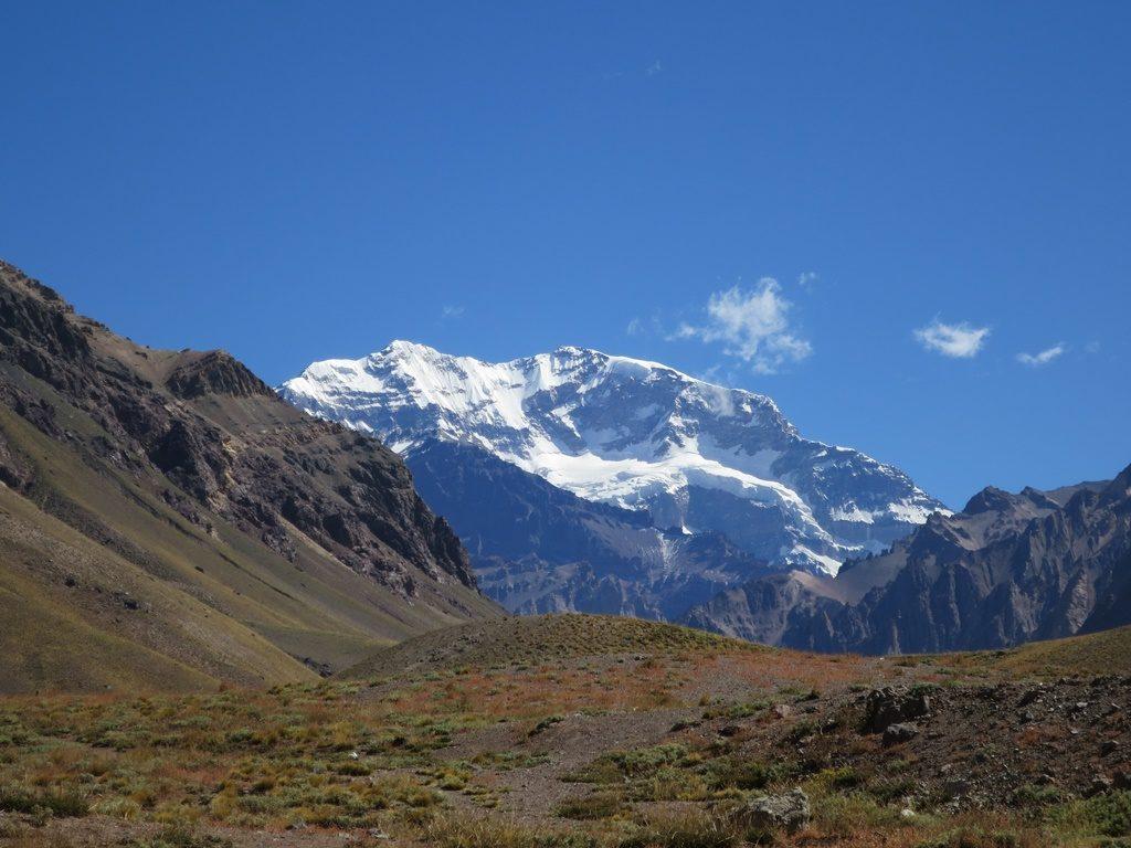 Aconcagua 6960 m (Passfahrt nach Argentinien)