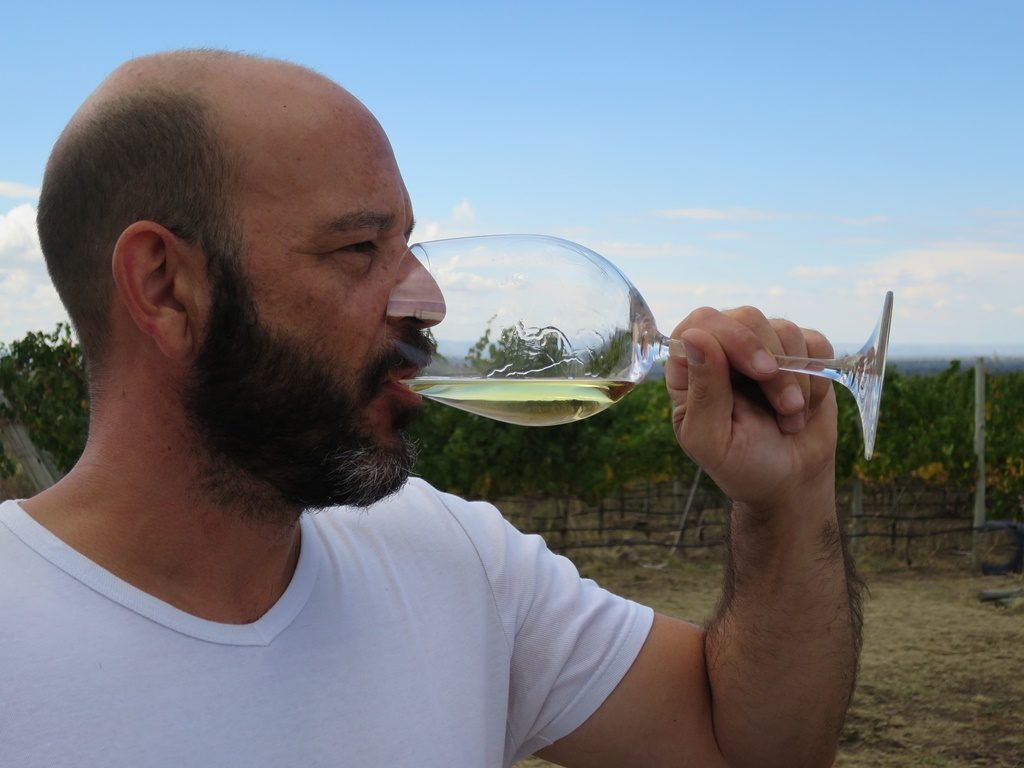 Asado in den Weinfeldern