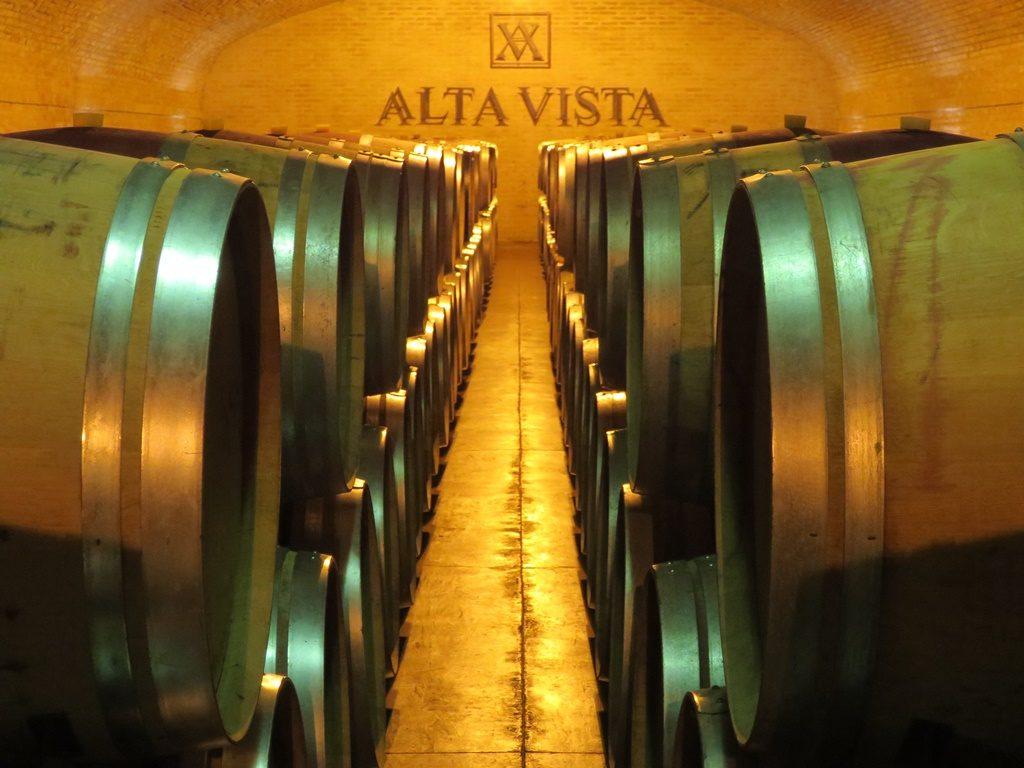 Alta Vista - Weindegustation