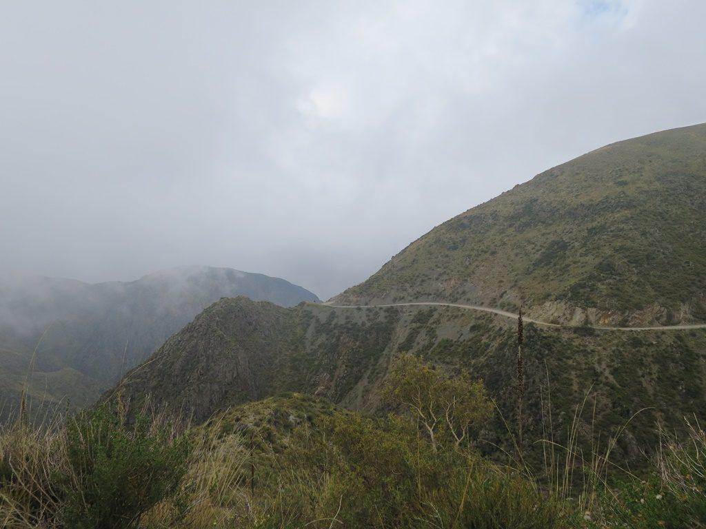 Bergstrasse nach Uspallata