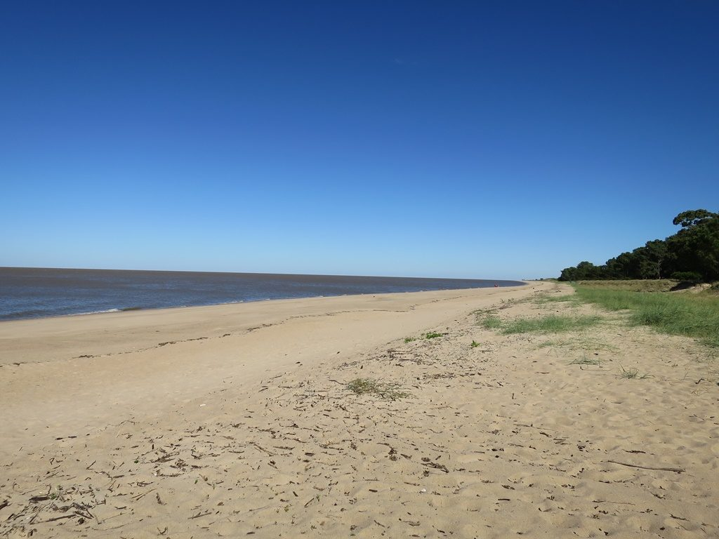 Wildes Campieren am Strand