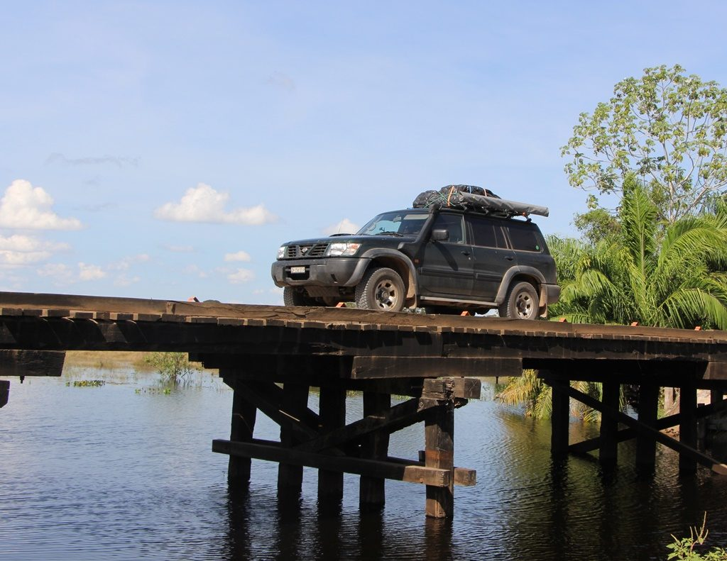 Pantanal - eine der 100 Holzbrücken