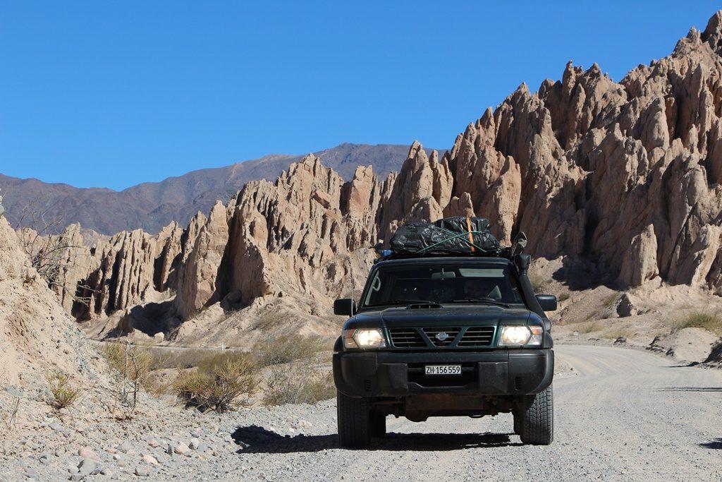 Valle Calchaquies - Offroad von Cafayate nach Cachi