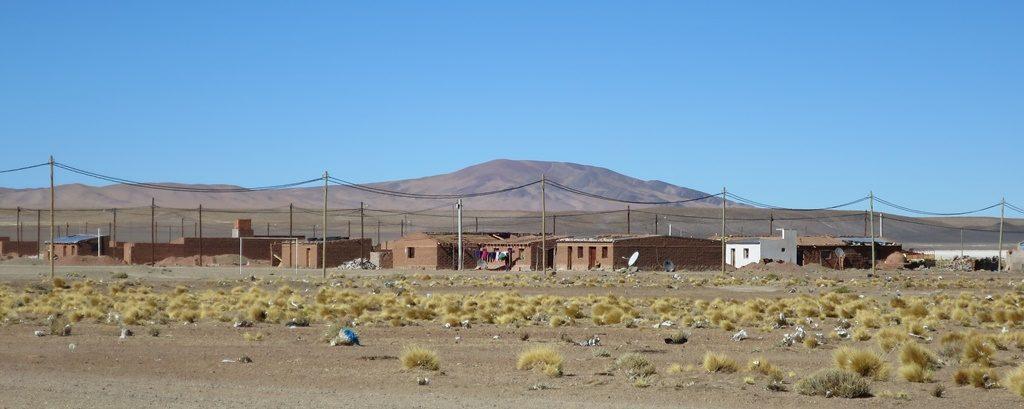 Paso Jama - Grenzsiedlung