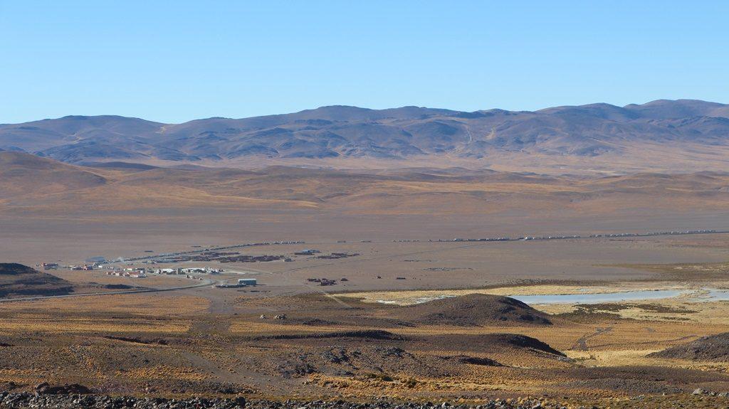 Paso Jama - Der Blick zurück zur Grenze
