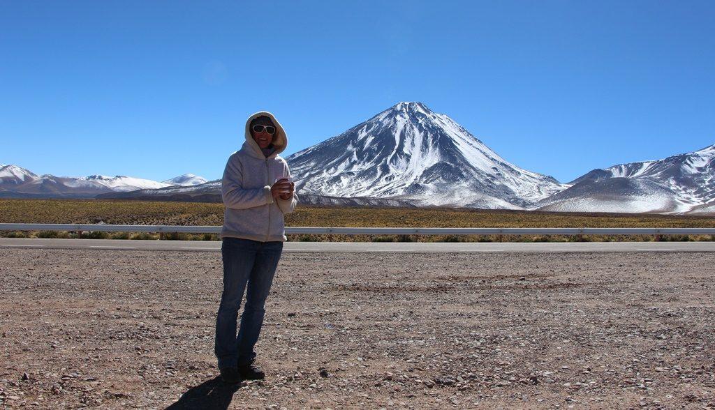 Paso Jama - Kaffeepause vor San Pedro de Atacama