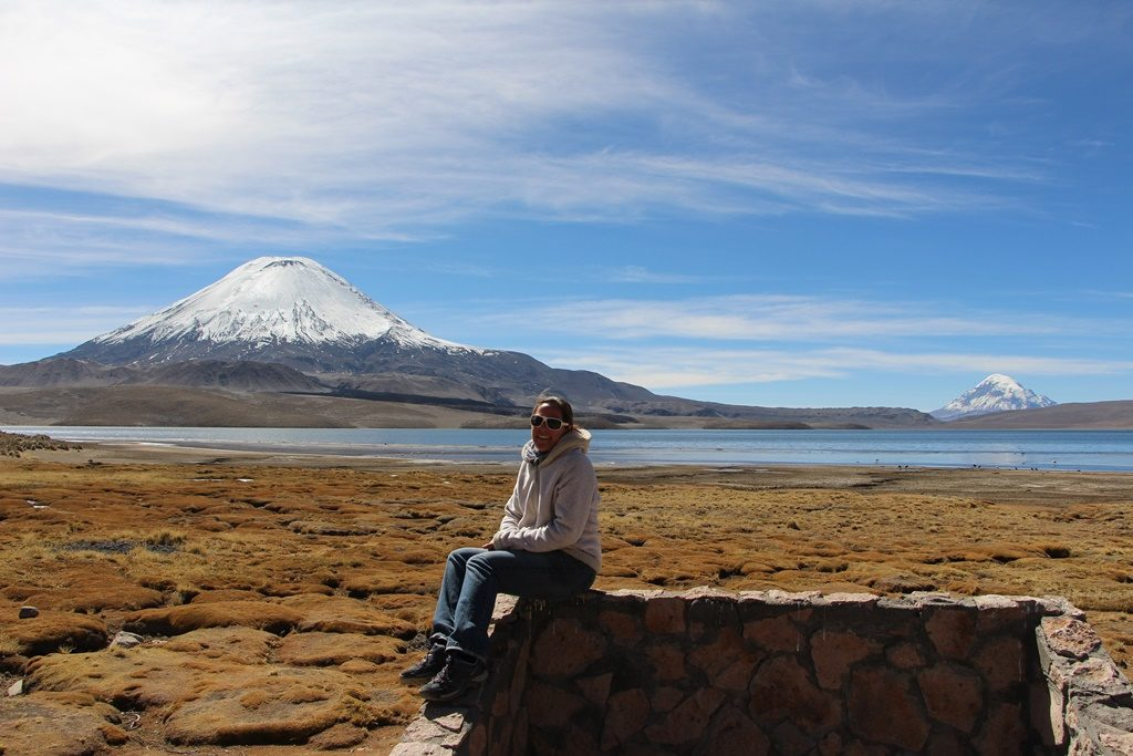 Lauca Nationalpark - Vulkan Parinacota (6330 M.ü.M.)