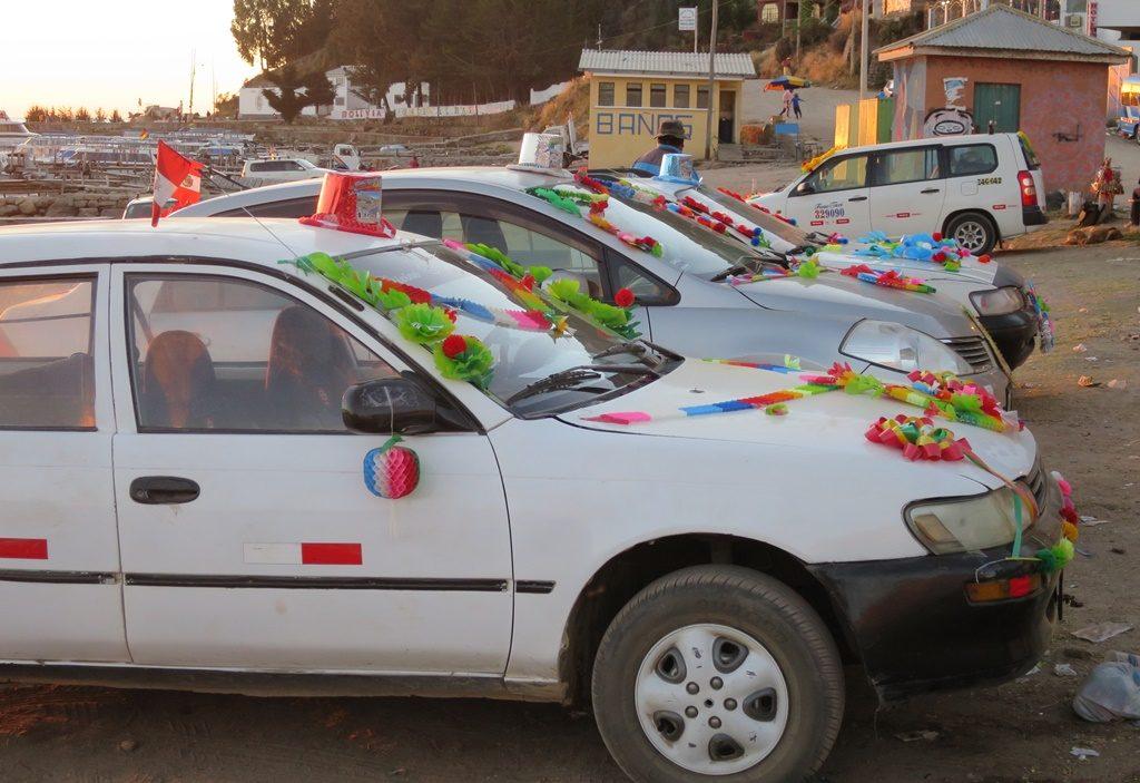 Titicacasee - Copacabana (Segnung der Autos)