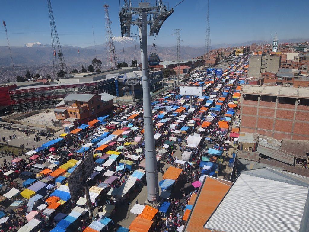 La Paz - Markt in El Alto