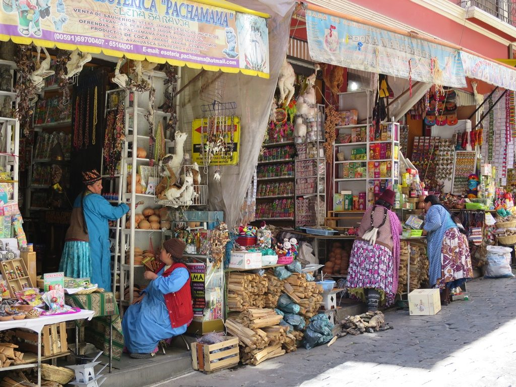 La Paz - Hexenmarkt