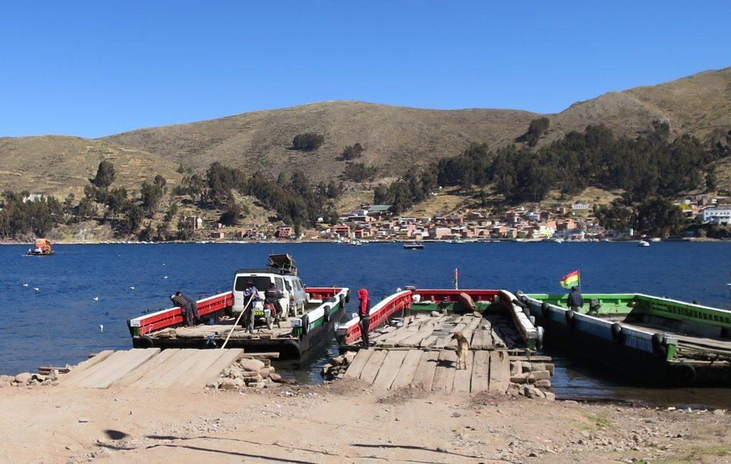 Titicacasee - Fähre