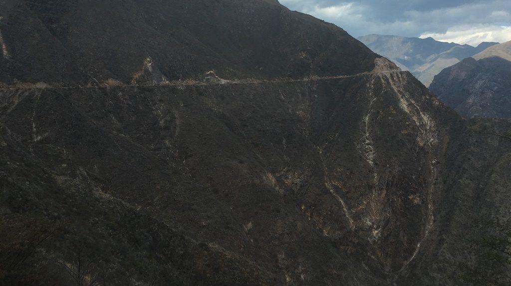 Halsbrecherische Fahrt nach Chachapoyas