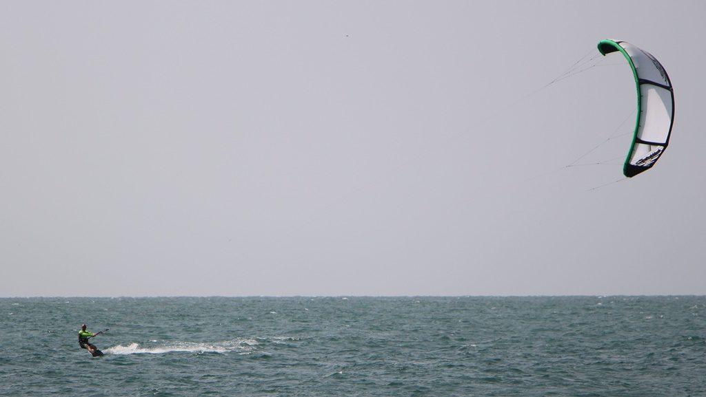 Endlich im Wasser - Mancora