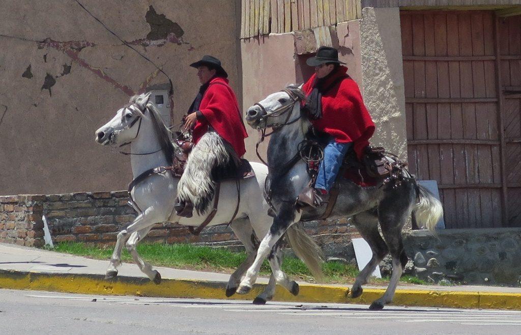 Ecuadorianische Gauchos
