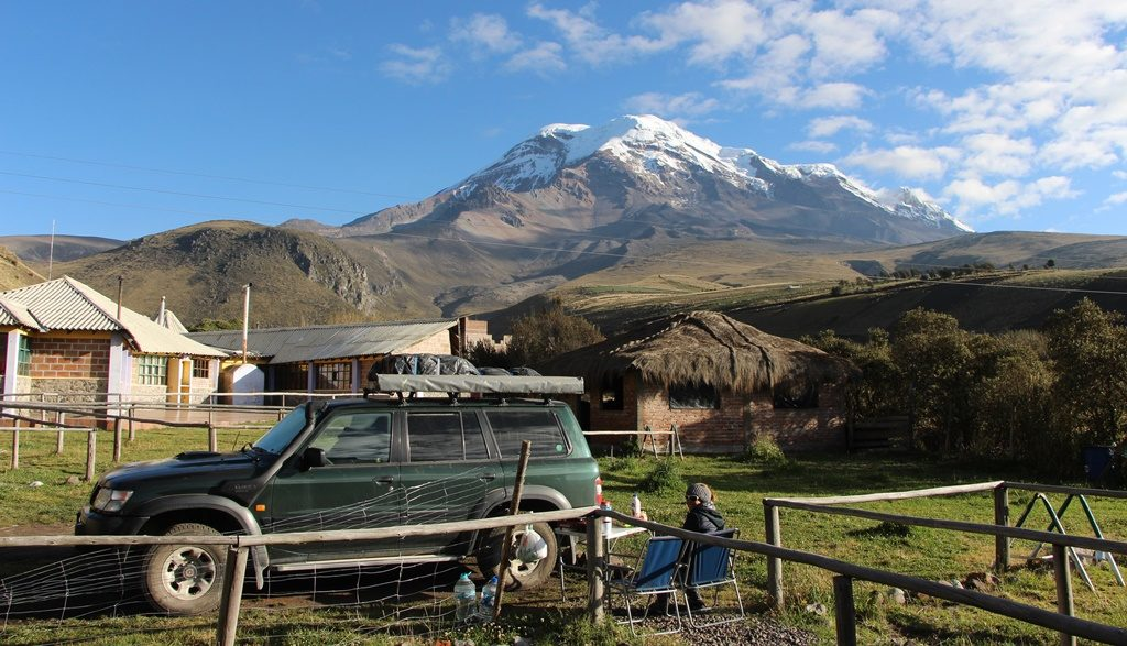 Vulkan Chimborazo 6310 M.ü.M.