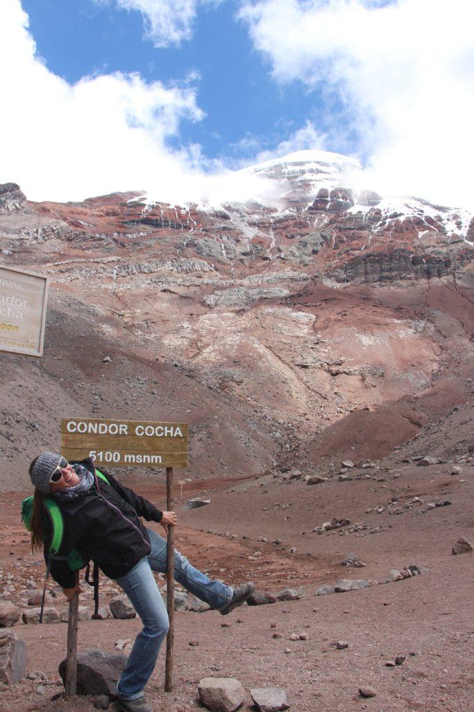 Vulkan Chimborazo / 5100 M.ü,M. geschafft:)