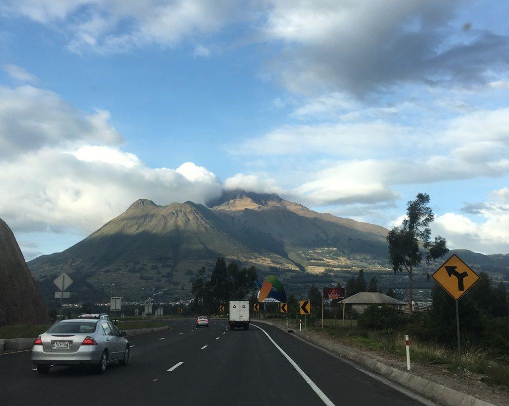 Strasse nach Otavalo