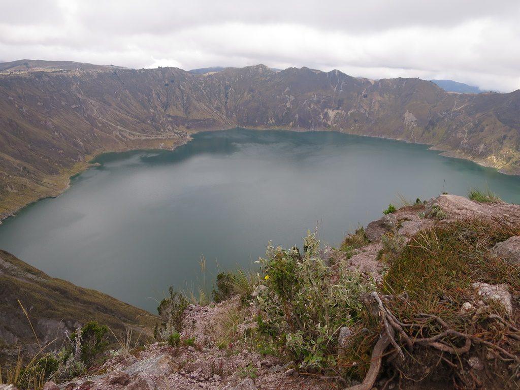 Krater Lagune Quilotoa
