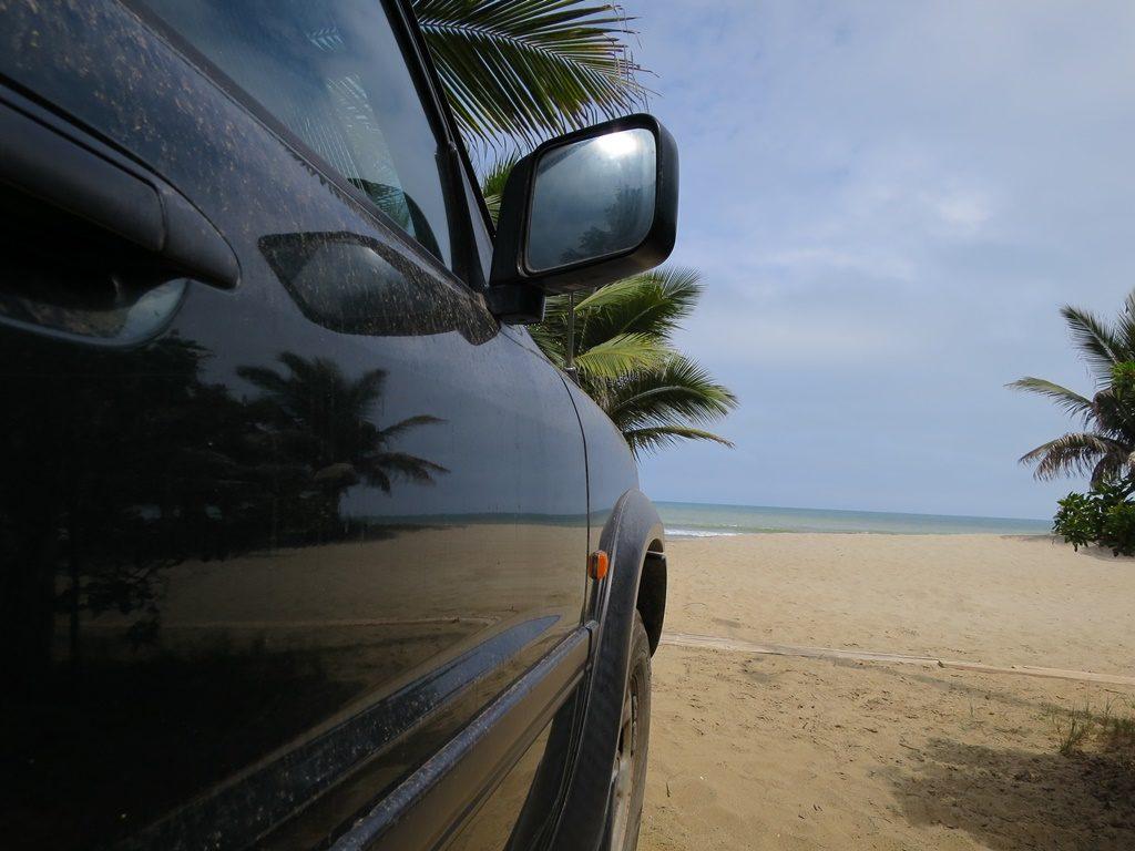 Erholung am Strand (Peru)