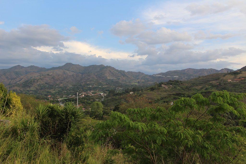 Aussicht auf Vilcabamba