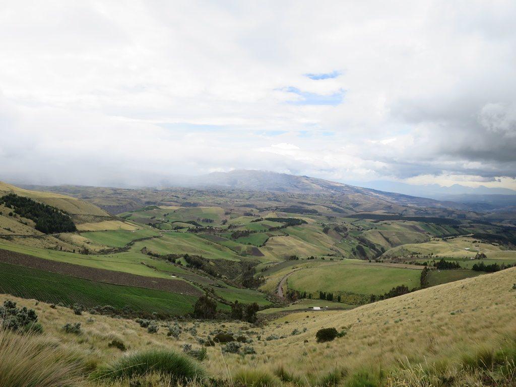 Auf dem Weg zum Vulkan Cayambe