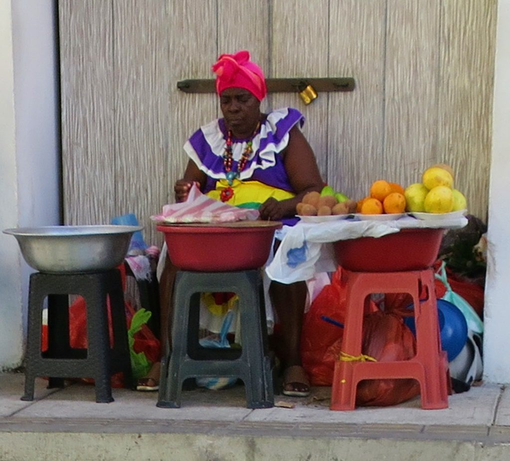 Früchtestand / Altstadt Cartagena