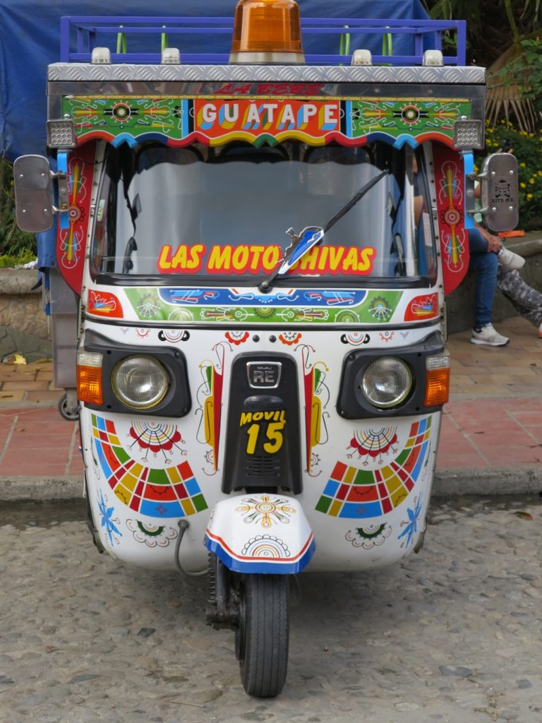 Tuktuk in Guatapé