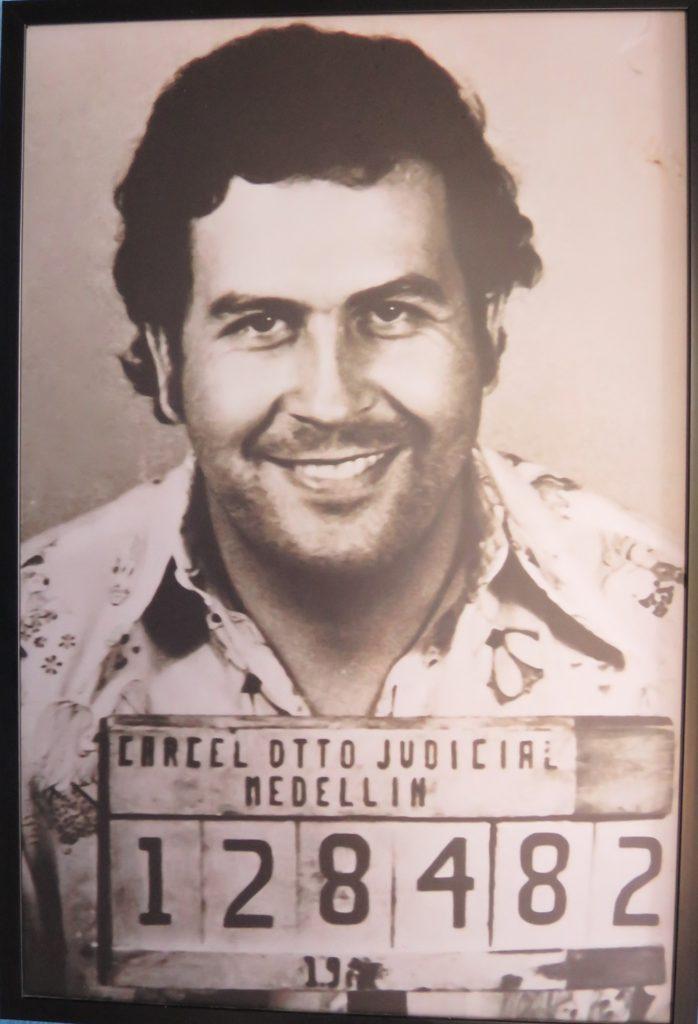 Fahndungsfoto Pablo Escobar / Hacienda Napoles