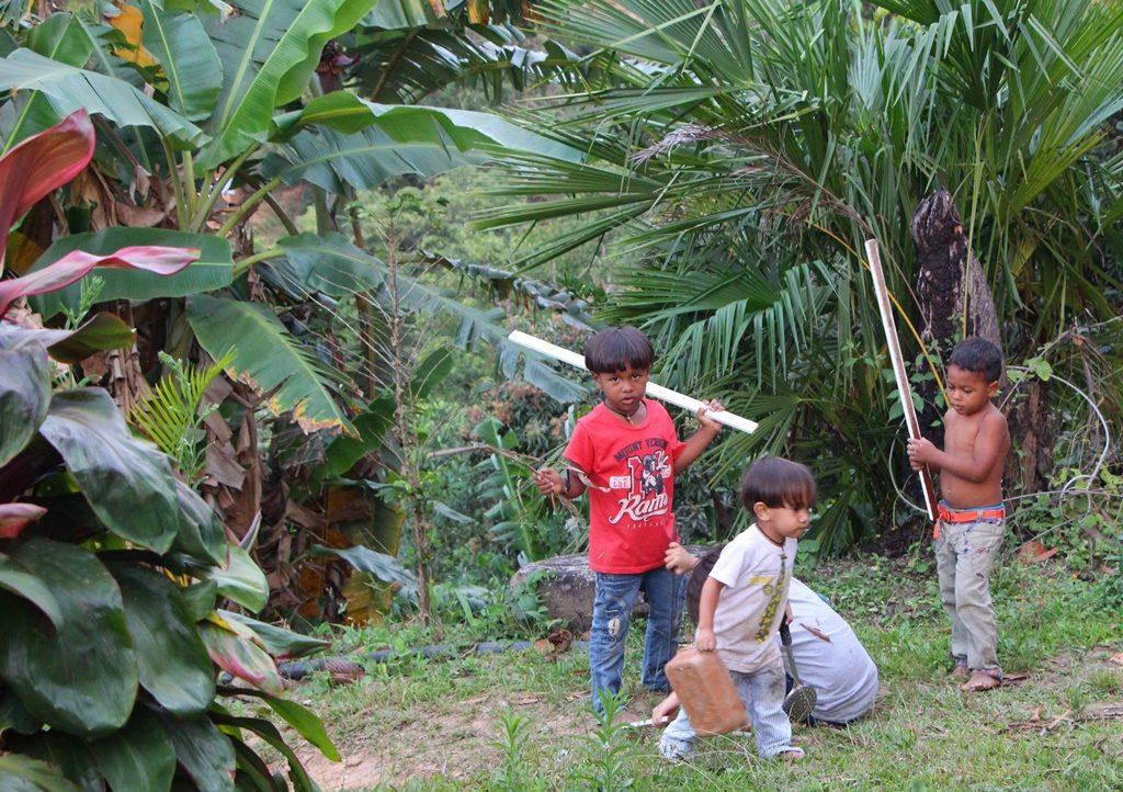 Unser kleine Amigo Jonathan mit seiner Bande (Minca)
