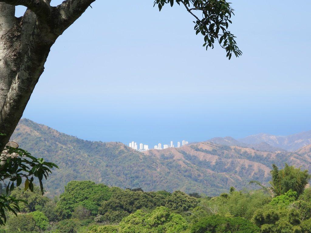 Sicht auf Santa Marta (Minca)