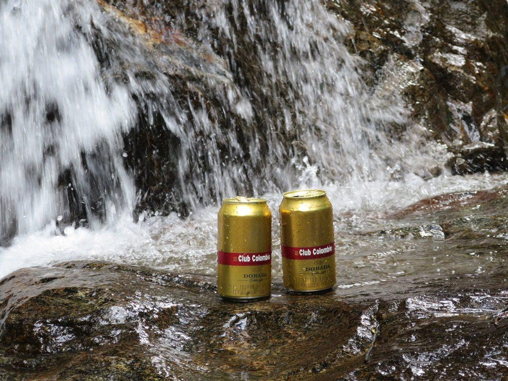 Erfrischung am Wasserfall in Minca