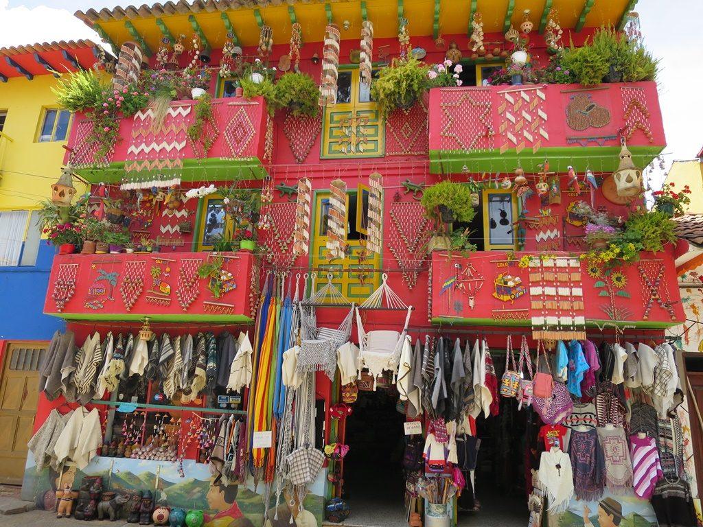 Einkaufsparadies Raquira