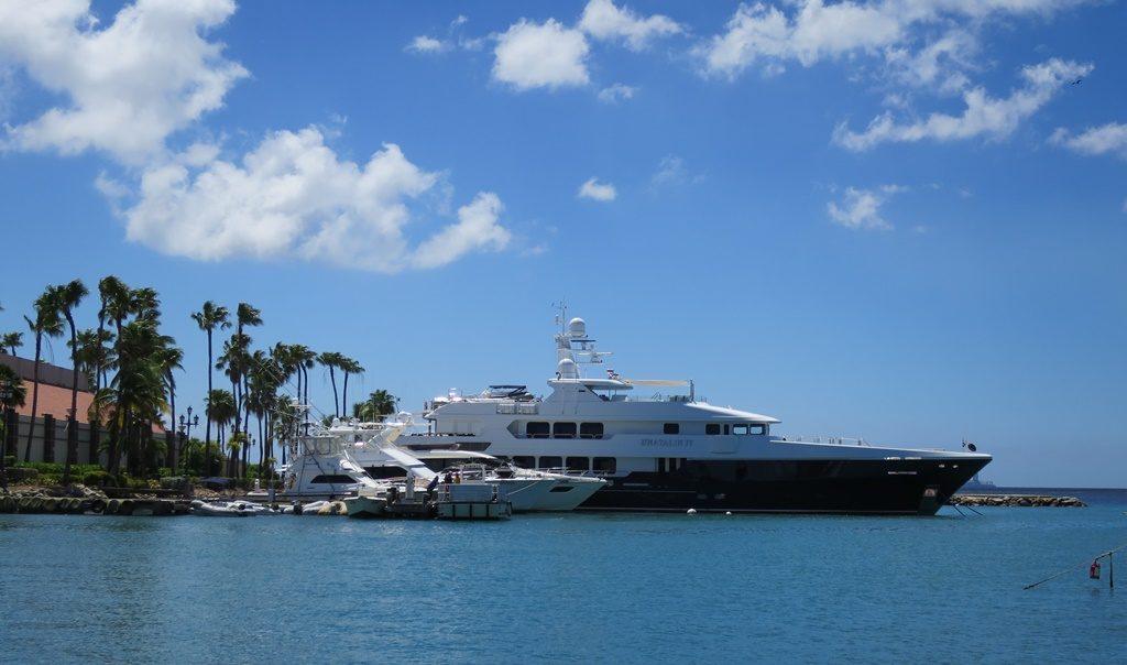 Luxus im Hafen